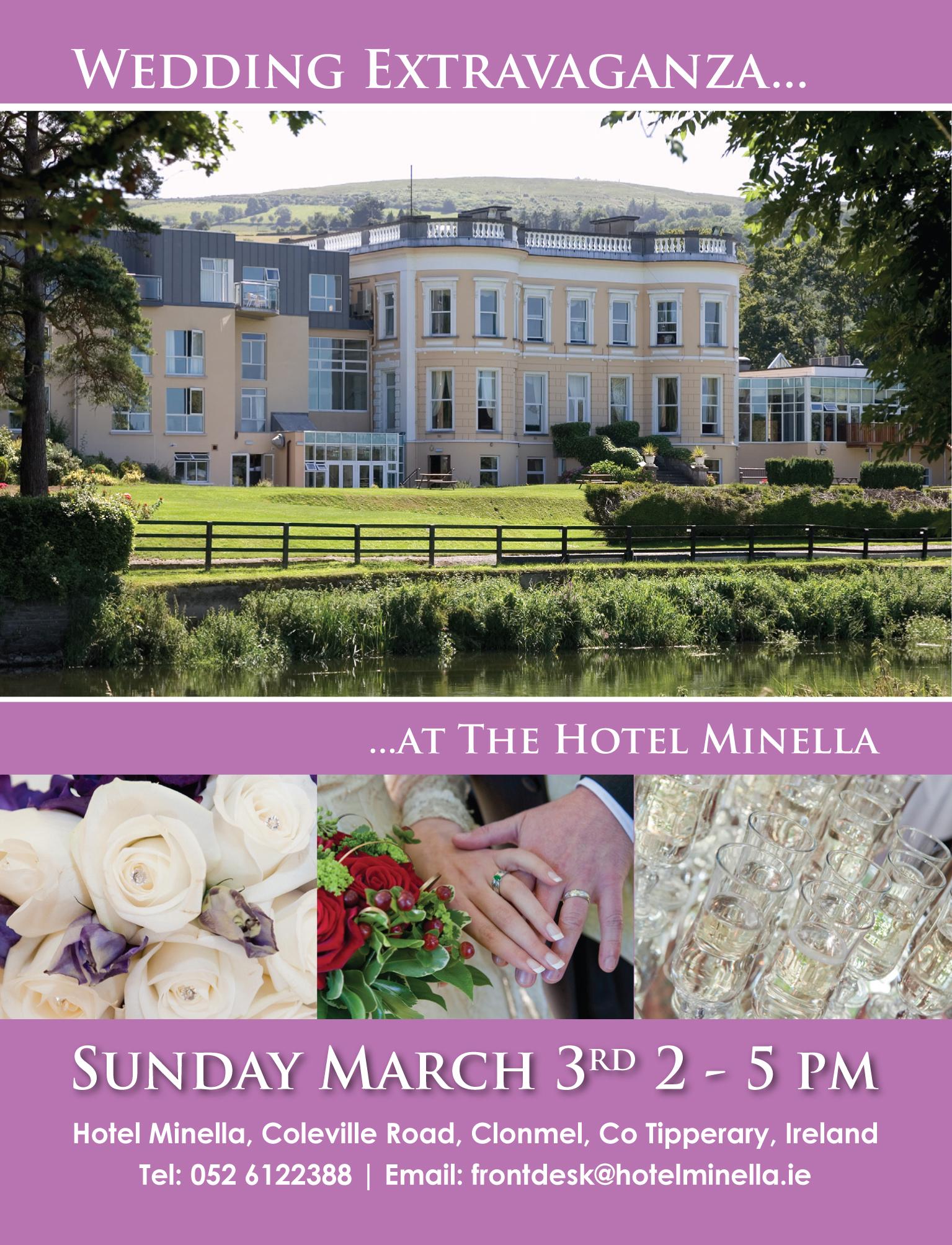 Hotel Minella Clonmel wedding fair